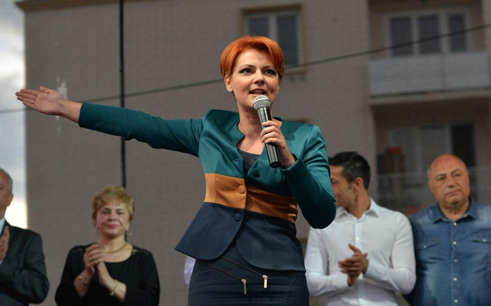 O doare undeva de nemultumirile romanilor! Olguta Vasilescu ii ironizeaza pe protestatari!