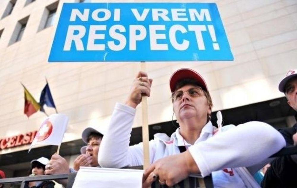 Protest MASIV miercuri in toata Romania! Bugetarii s-au saturat de minciunile Olgutei Vasilescu!