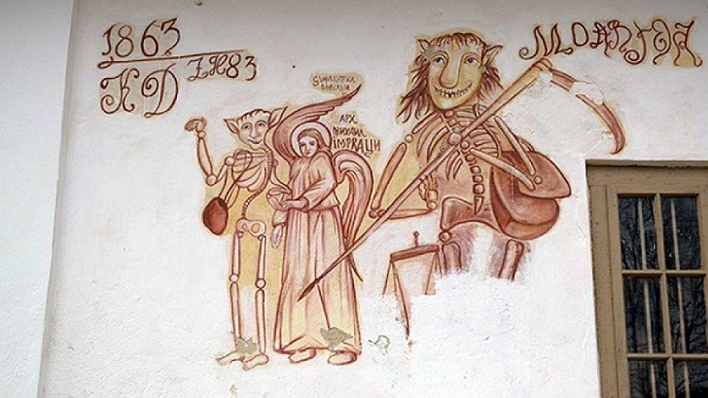 Unic in Romania: Biserica in care MOARTEA e intampinata RAZAND!
