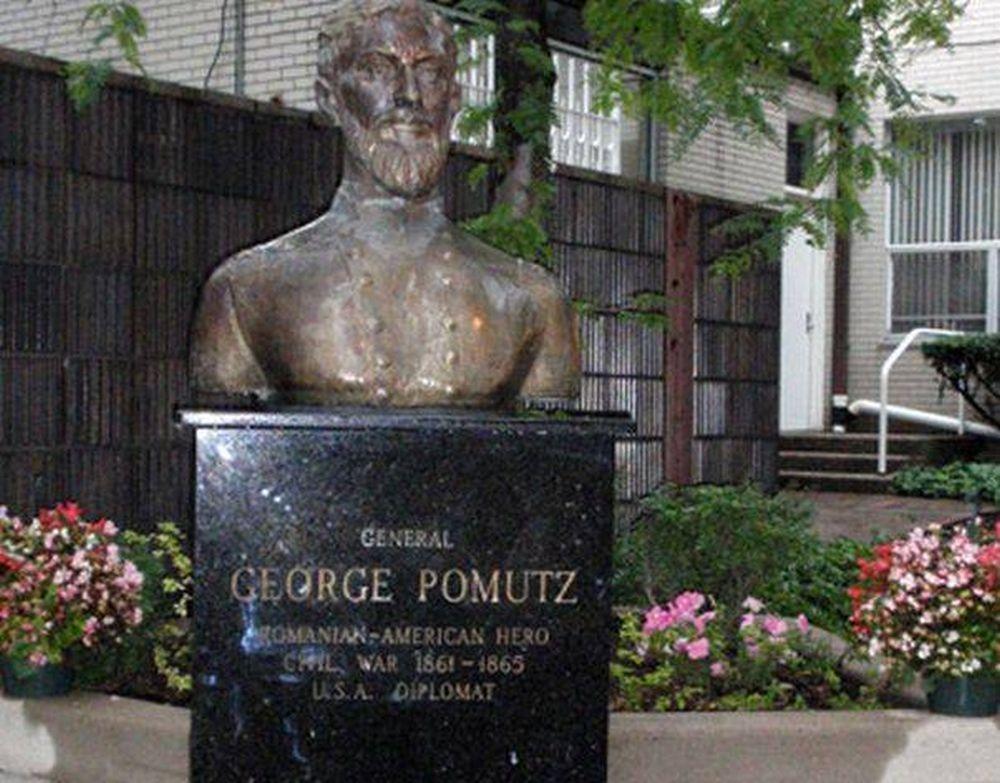 Iti spune ceva numele George Pomutz? E romanul care a cumparat Alaska de la rusi pentru SUA! Si acum are statuie in America!