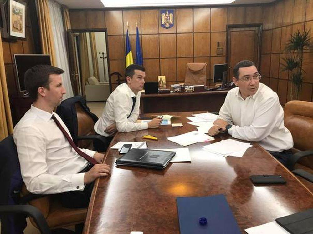 Rasturnare de situatie! Daniel Constantin s-a intalnit cu premierul Grindeanu, motiunea PSD nu trece!