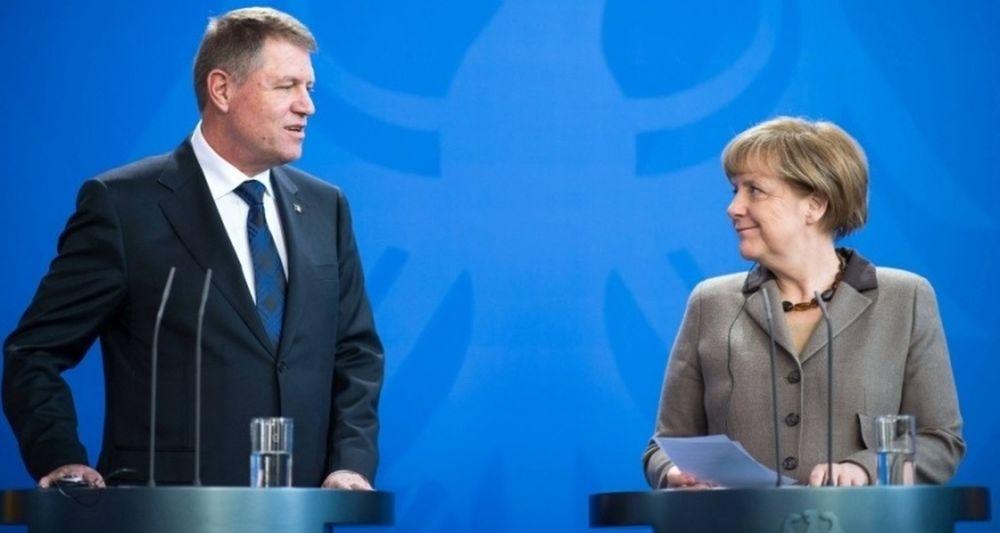 VIDEO – Presedintele Klaus Iohannis s-a intalnit cu Angela Merkel. Ce i-a spus despre discutiile avute cu Trump!?