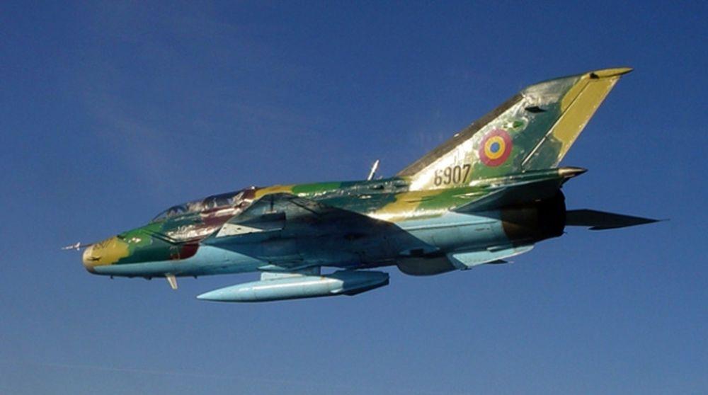 Avion MIG 21 Lancer prabusit in judetul Constanta!