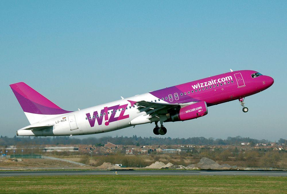 Wizz Air a lansat rezervarile de bilete de avion fara nume