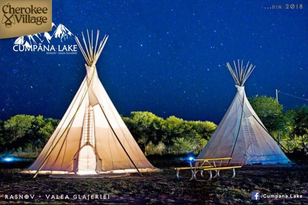 Proiect turistic unic in Romania: Sat indian Cherokee in Muntii Bucegi!
