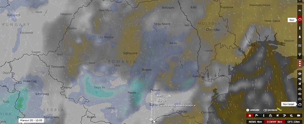Harta Interactiva Cum Se Vede Din Satelit Ciclonul Care Se Abate